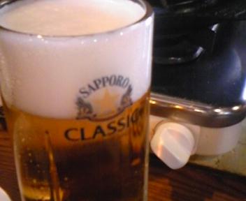サッポロビール園で成吉思汗